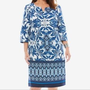 Jessica London blue dress 26W